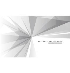 grey polygon on white with simple text vector image