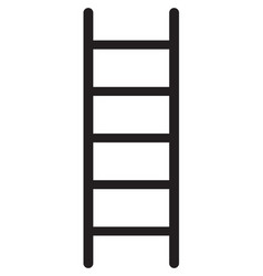Ladder icon vector