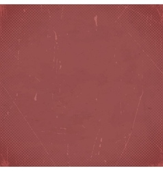 Old marsala scratched card with halftone gradient vector