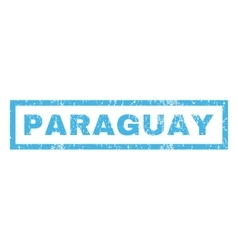 Paraguay Rubber Stamp vector