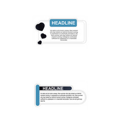 Timeline infographic hand drawn elements vector