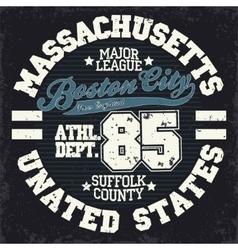 Sport t-shirt graphics vector image