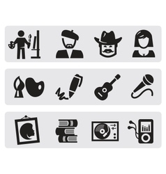 creative professions vector image vector image