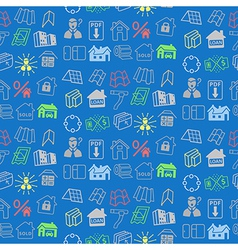 Sale buildings materials seamless background vector image vector image