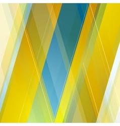 Abstract polygonal geometric blue orange vector