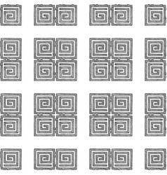 ancient greek ornament vector image