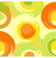 Big grunge multicoloured circles vector