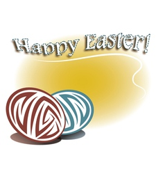 Card for Easter vector