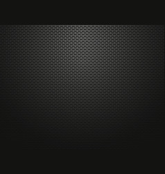 dark perforated metallic background vector image
