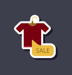 Fashion patch sale sticker t-shirt vector