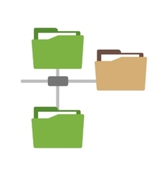 Folders Sharing Data vector