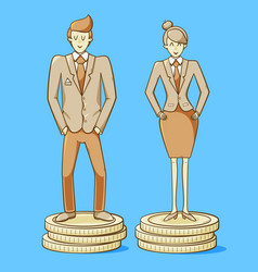 gender equality vector image
