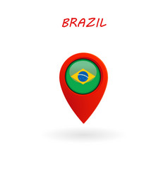 location icon for brazil flag eps file vector image