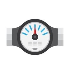 Water Meter Flat Icon vector