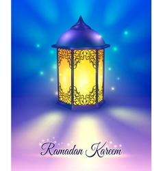 Ramadan Colored Poster vector image vector image