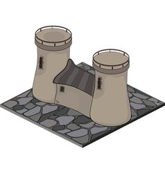Watchtower vector image
