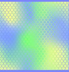mermaid or fish skin with scale pattern mermaid vector image