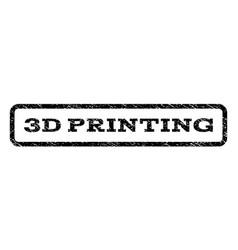 3d printing watermark stamp vector