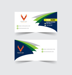 banner corporate design vector image