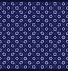Batik blue tones texture and background good vector