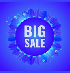 big sale concept modern banner vector image