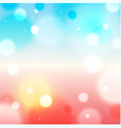 blurred romantic background vector image