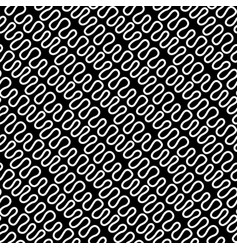Seamless linear pattern with thin elegant curved vector