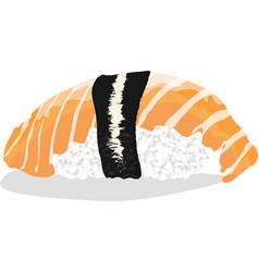 Sushi japanese cuisine vector