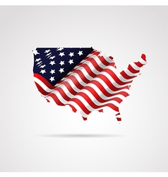 United states america flag vector