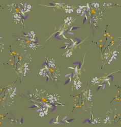 vintage background wallpaper blooming realistic vector image