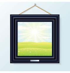 Artwork Picture Frame vector image