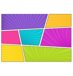 blank bright colored background templates vector image