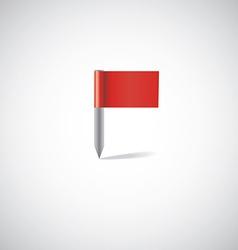 Flag pin vector