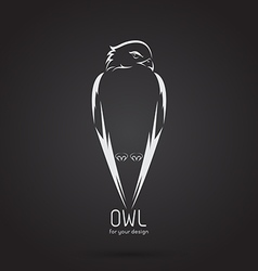 Image of a owl design vector image