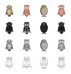 Isolated object animal and tattoo icon vector
