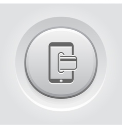 Mobile Banking Icon Business Concept vector