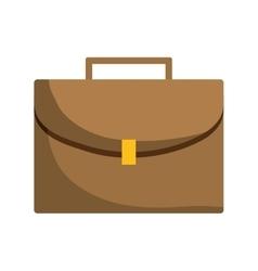 Portfolio briefcase isolated icon vector