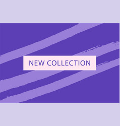 set of new collection fashion headers gold and vector image
