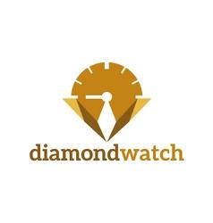 abstract logo template corporate diamond wa vector image vector image