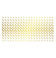 Call golden halftone array vector