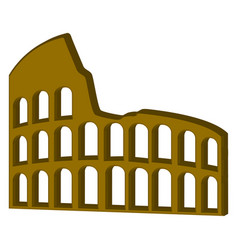 coliseum icon vector image
