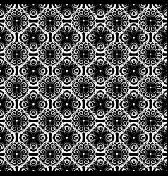 Curls monochrome seamless vector