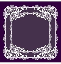 Lace beautiful vector