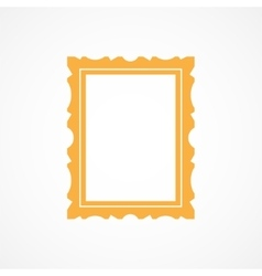 Picture frame icon vector