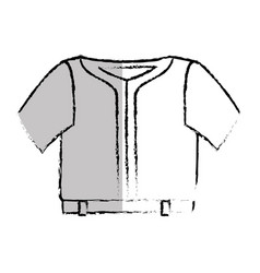 sport wear clothes icon vector image