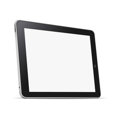 Tablet computer pc vector image