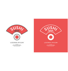 sign for japanese restaurant vector image