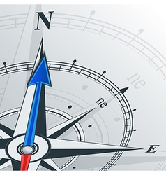 compass north vector image vector image
