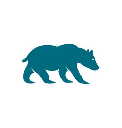 bear logo template vector image