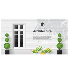Elements of architecture window background 18 vector